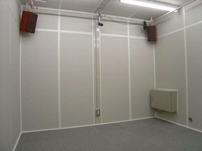 簡易防音室
